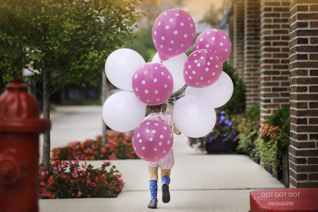 SUMMER, CANDY AND BALLOONS! | Dot Dot Dot Photography, Lake Forest Professional Children Photographer